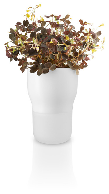 "Eva Solo Self-Watering Flowerpot - Chalk White (3.5"")"