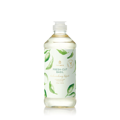 Thymes Fresh-Cut Basil Dishwashing Liquid 16.0 fl oz