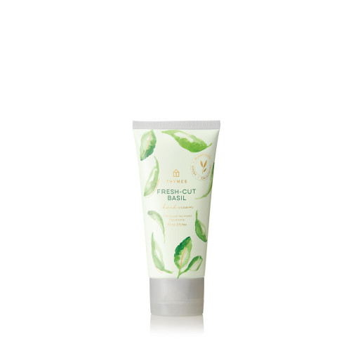 Thymes Fresh-Cut Basil Hard-Working Hand Cream 2.5 fl oz