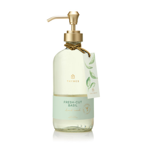 Thymes Fresh-Cut Basil Large Hand Wash 15.0 fl oz