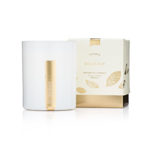 Thymes Goldleaf Candle 9.0 oz