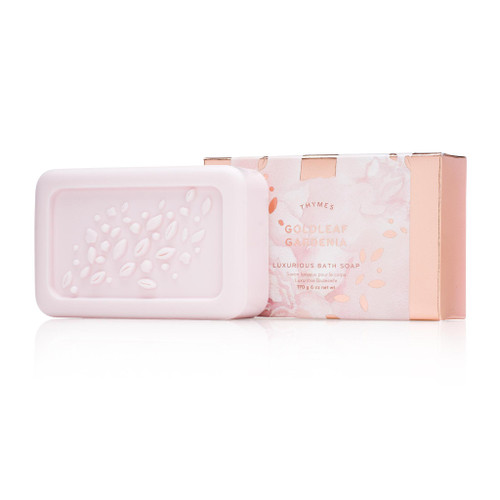 Thymes Goldleaf Gardenia Bar Soap 6.0 oz