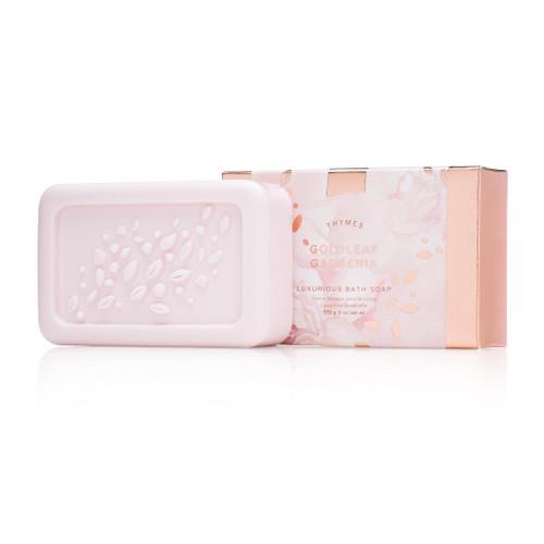 Thymes Goldleaf Gardenia Bar Soap 6.0 oz