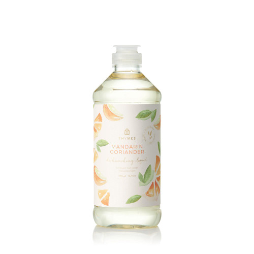 Thymes Mandarin Coriander Dishwashing Liquid 16.0 fl oz