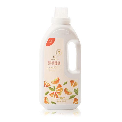 Thymes Mandarin Coriander Concentrated Laundry Detergent 32 fl oz