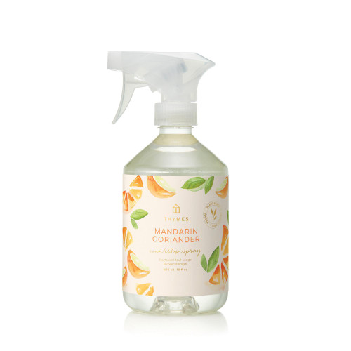 Thymes Mandarin Coriander Countertop Spray 16.5 fl oz