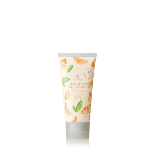 Thymes Mandarin Coriander Hard-Working Hand Cream 2.5 fl oz