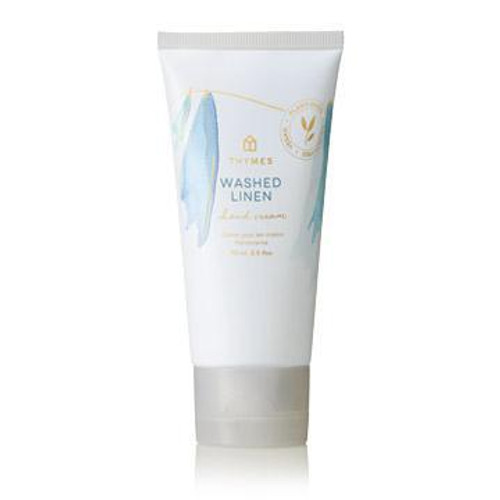 Thymes Washed Linen Hard-Working Hand Cream 2.5 fl oz