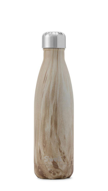 S'well Stainless Steel Water Bottle - Blonde Wood (17oz)