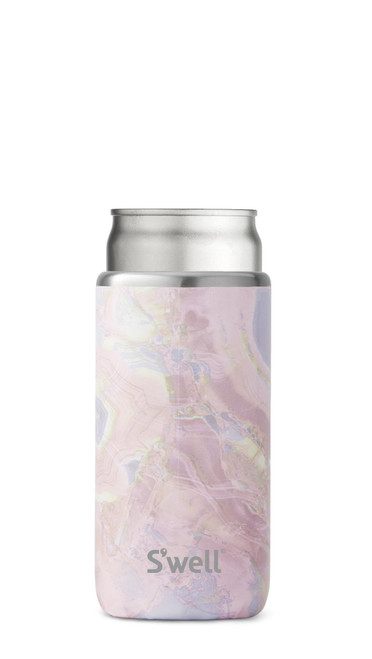 S'well Slim Drink Chiller - Geode Rose (12oz)