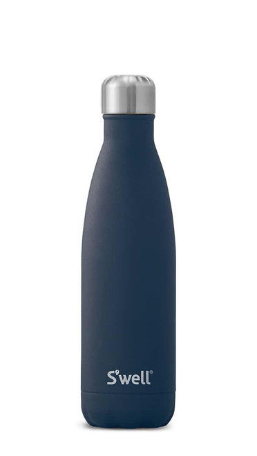S'well Stainless Steel Water Bottle - Azurite Marble (17oz)
