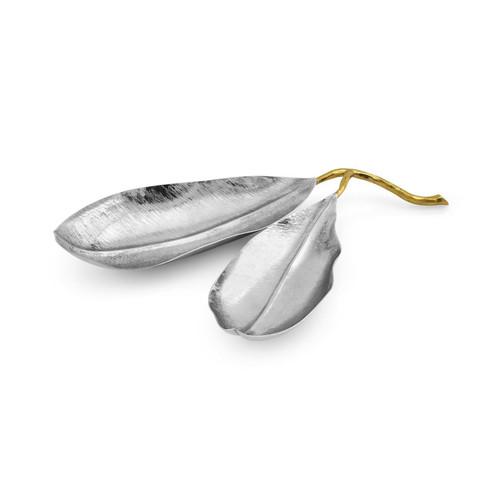 Lodhi Garden Mango Leaf Double Dish
