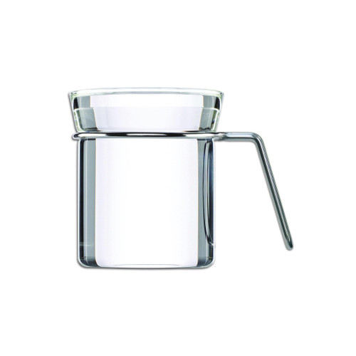 Ellipse Tea-beaker with Stainless handle