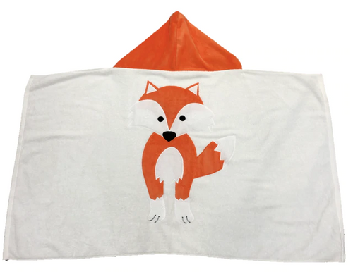 KokoBaby Hooded Infant Towel - Fox