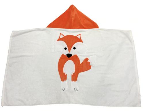 KokoBaby Hooded Infant Towel - Fox