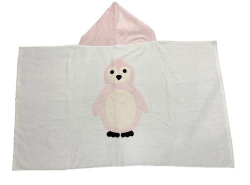 KokoBaby Hooded Infant Towel - Penguin