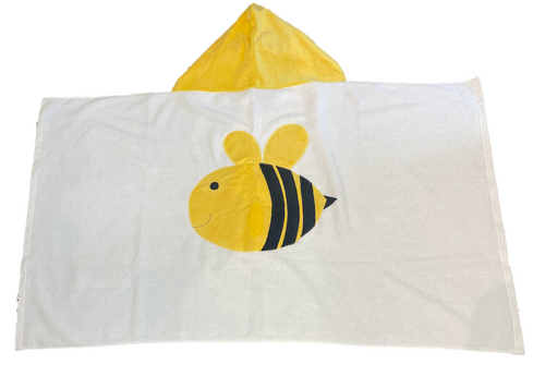 Hooded Towel - Bee
