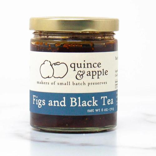 Figs and Black Tea Preserves - 6oz Jar