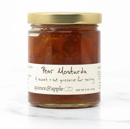 Pear Mostarda - 6oz Jar
