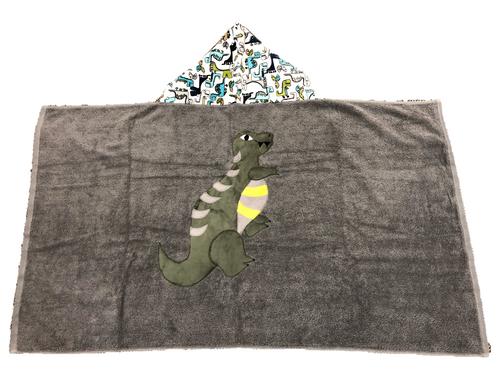Hooded Towel - Dinosaurs