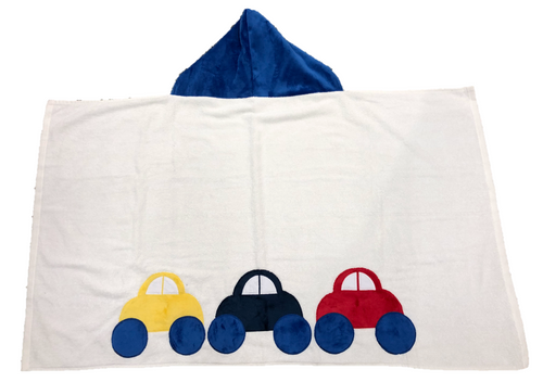 Hooded Towel - Cars