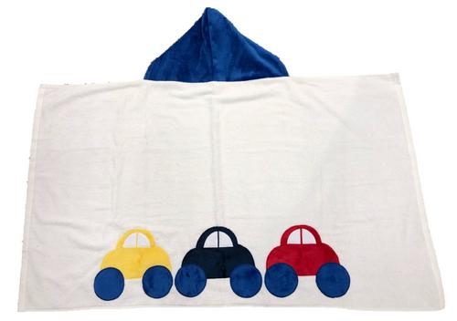 Hooded Towel - Cars