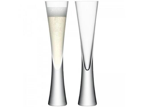 Moya Champagne Flutes, Set of 2 - 5.75oz