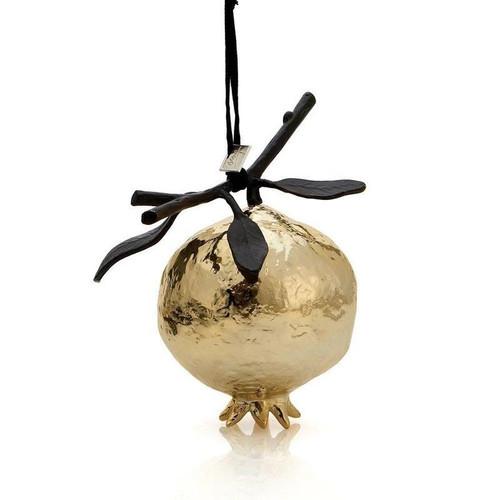 Pomegranate Ornament Gold