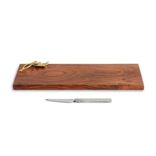 Ivy & Oak Bar Board w/Bar Knife