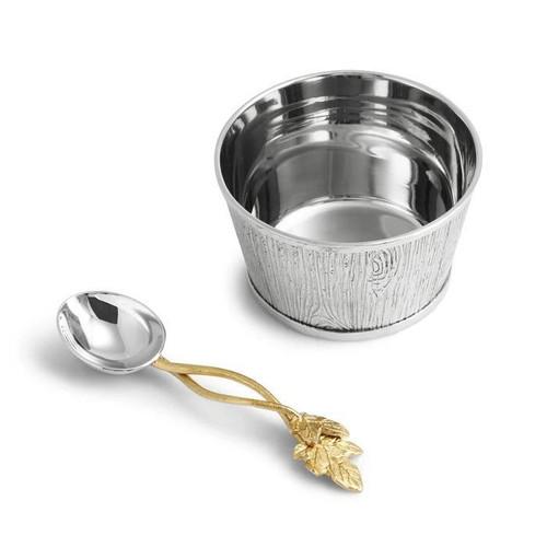 Ivy & Oak Nut Dish w/Spoon