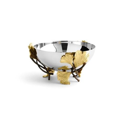 Golden Ginkgo Small Bowl