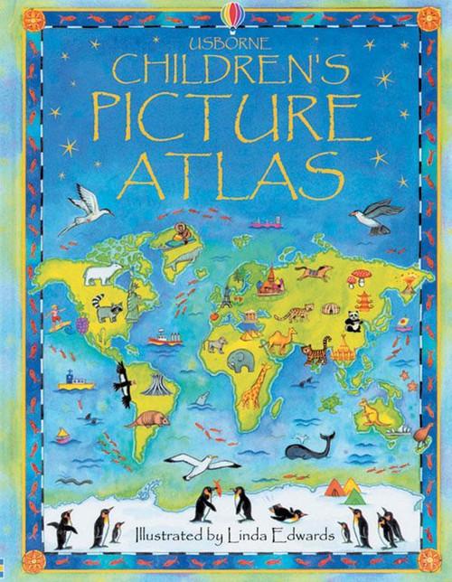 Children's Picture Atlas - Usborn