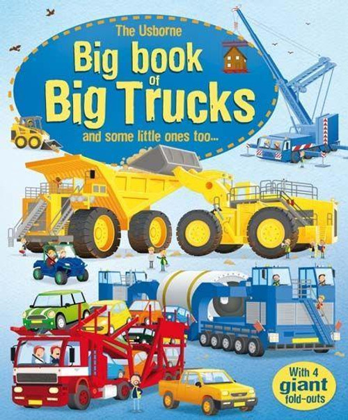 Big Book of Big Trucks - Usborne