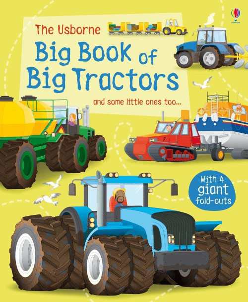 Big Book of Big Tractors - Usborne