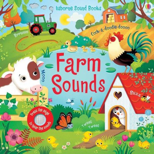 Farm Sounds - Usborne