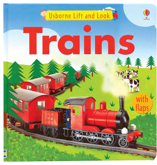 Lift and Look, Trains - Usborne