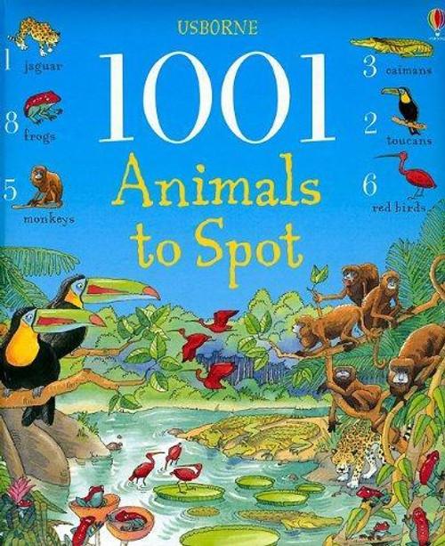 1001 Animals to Spot - Usborne