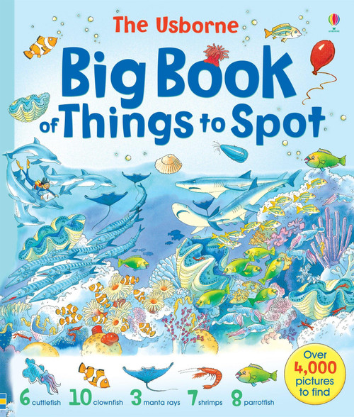 Big Book of Things to Spot - Usborne