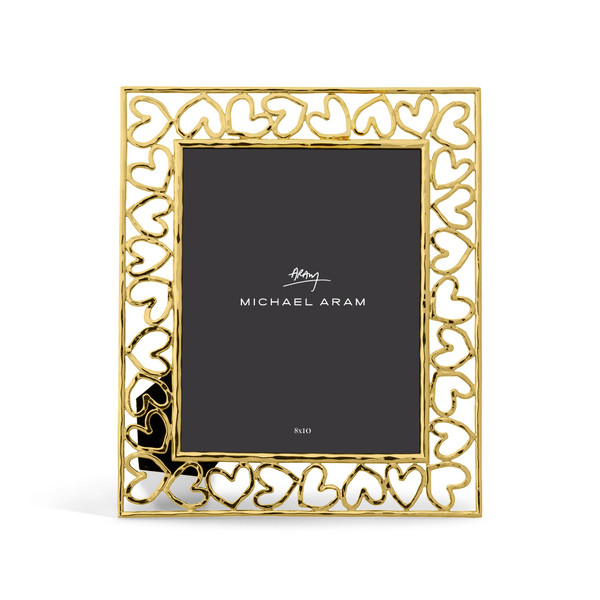 Michael Aram Heart Photo Frame Gold 8x10