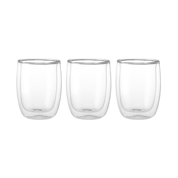 Zwilling Double Wall Appetizer Dessert Glasses (6.7oz) - Set of 3 - Sorrento