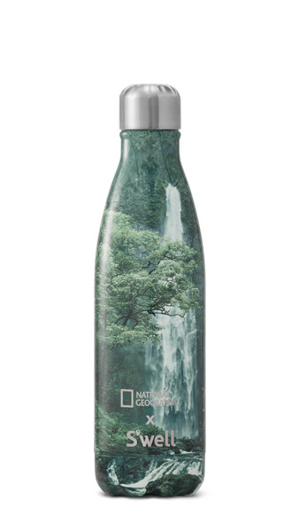 S'well Stainless Steel Water Bottle - National Geographic x S'well - Waterfall (17 oz)