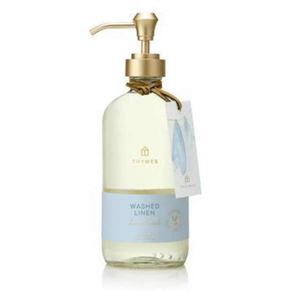 Thymes Washed Linen Large Hand Wash 15.0 fl oz