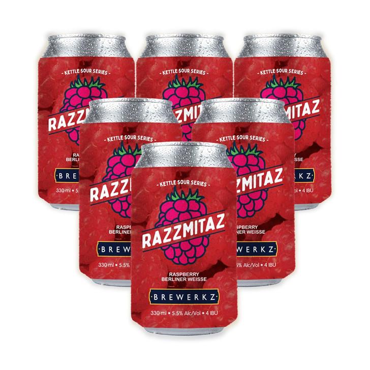 Kettle Sour Series: Razzmitaz - 6 x 330ml