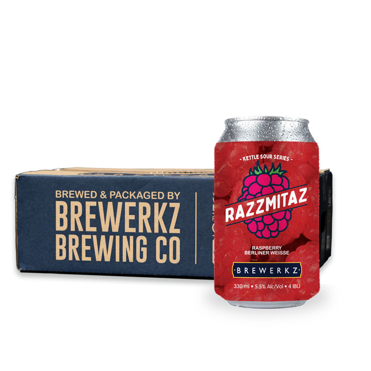 Kettle Sour Series: Razzmitaz - 24 x 330ml