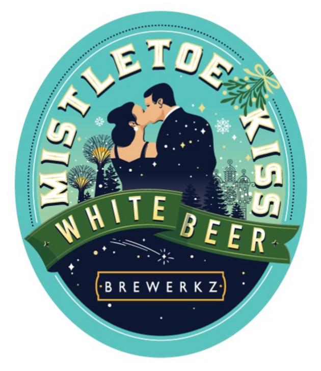 Mistletoe Kiss White Beer - 6 x 330ml