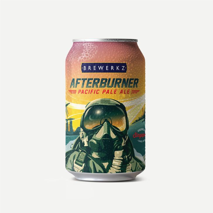Afterburner Pacific Pale Ale  - 6 x 330ml