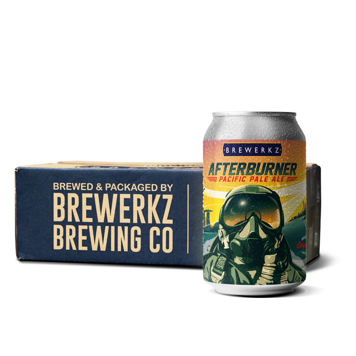 Afterburner Pacific Pale Ale - 24 x 330ml