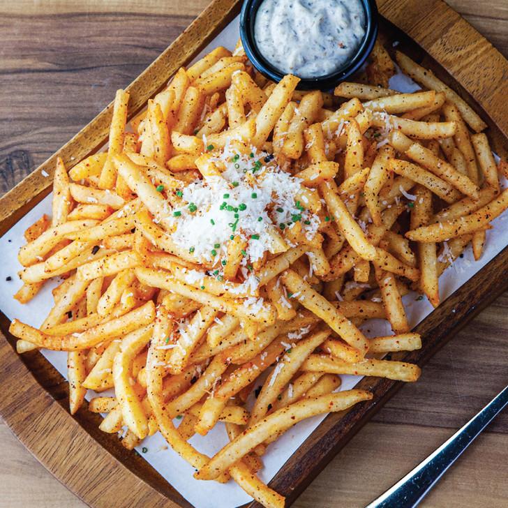 Kombu Truffle Fries