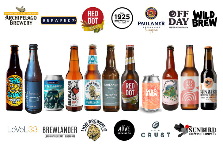 [Sold Out] #SGCraftTogether Local Breweries 12 Pack