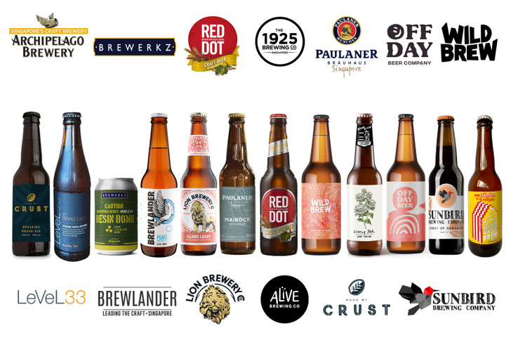 [Sold Out] #SGCraftTogether Local Breweries 12 Pack (2nd Edition)